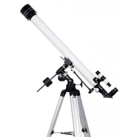 Starscope 60 900mm Refraktor Teleskop auf EQ2-1 und Stativ