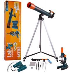 Levenhuk LabZZ MTB3 Mikroskop/Teleskop/Fernglas-Set