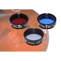 """1,25"""" Mars Filterset - 3-teilig - für Beobachtung und Fotografie"""