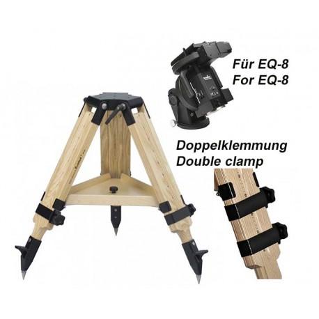 Berlebach Stativ PLANET kurze Version mit Doppelklemmung für EQ-8