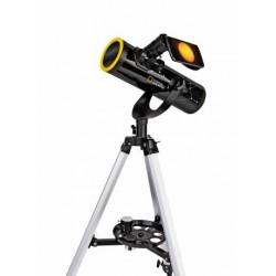 NATIONAL GEOGRAPHIC 76/350 Teleskop mit Sonnenfilter und Smartphone-Halter