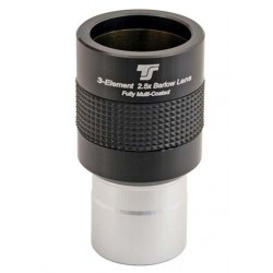 TS-Optics Optics TSB251 2,5x-Barlowlinse, 1,25 Zoll, apochromatisch - volle Farbkorrektur