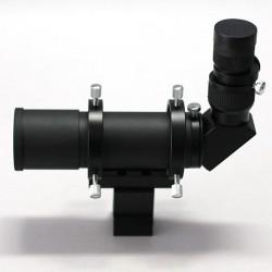 APM Sucher 50mm 90° seitenrichtig + 24mm Fadenkreuzokular