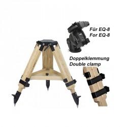 Berlebach Stativ PLANET lange Version mit Doppelklemmung für EQ-8