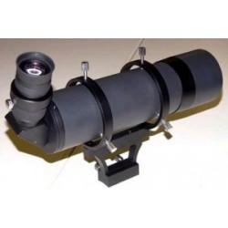 Sucher 80 mm 90 Grad  seitenrichtig + 26mm Fadenkreuzokular 55 Grad